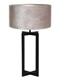 Vensterbanklamp met zwart metalen frame-8450ZW