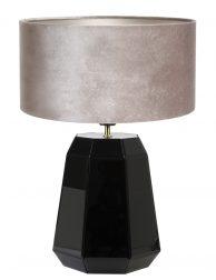 Hoekige lampenvoet met kap-8492ZW